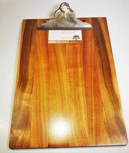 Large Koa Clipboard