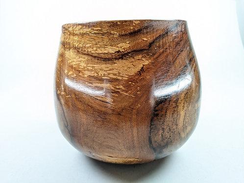 "Carved Large Koa Bowl (2)  8"" x 7.5"""