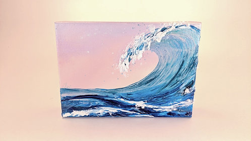 Art and Texture 5x7 inch Wave