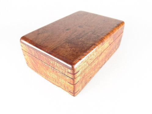 "Large Curly Koa Box (8x5x3"")"