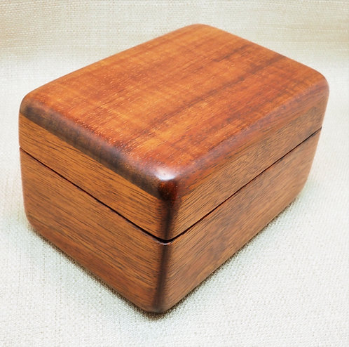 Small Koa box approx 5Lx3Wx3H