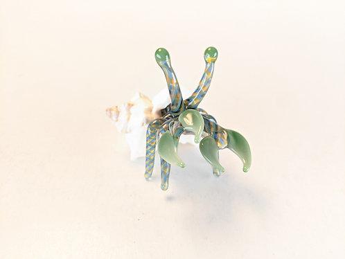 Glass Hermit Crab (green)