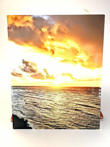 Makai Sunrise Aluminum Print