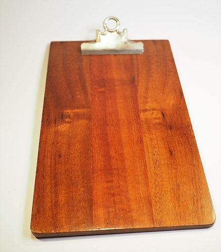 Small Koa Clipboard