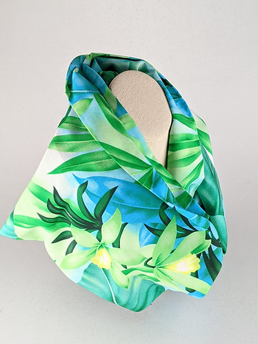 Infinity Scarf (blue green)
