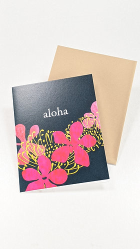 Folded Note Card Set (red)