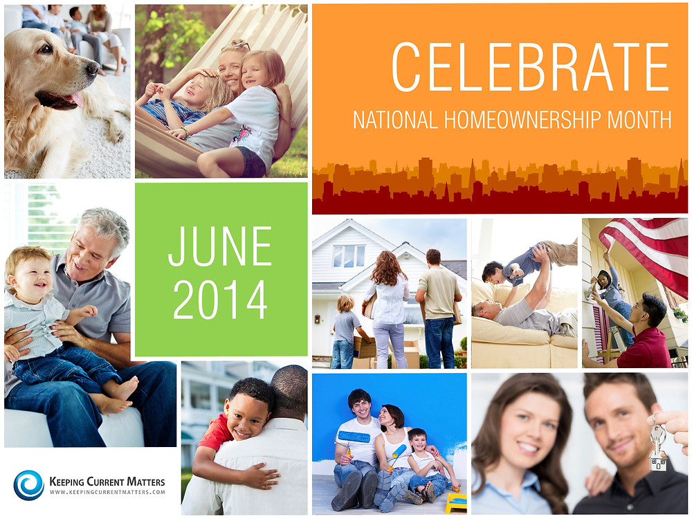 June is National Homeownership Month!! | The KCM Crew