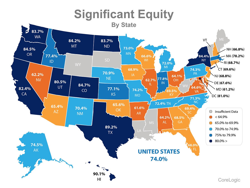 74% of Households in the US Now Have Significant Equity! | Simplifying The Market