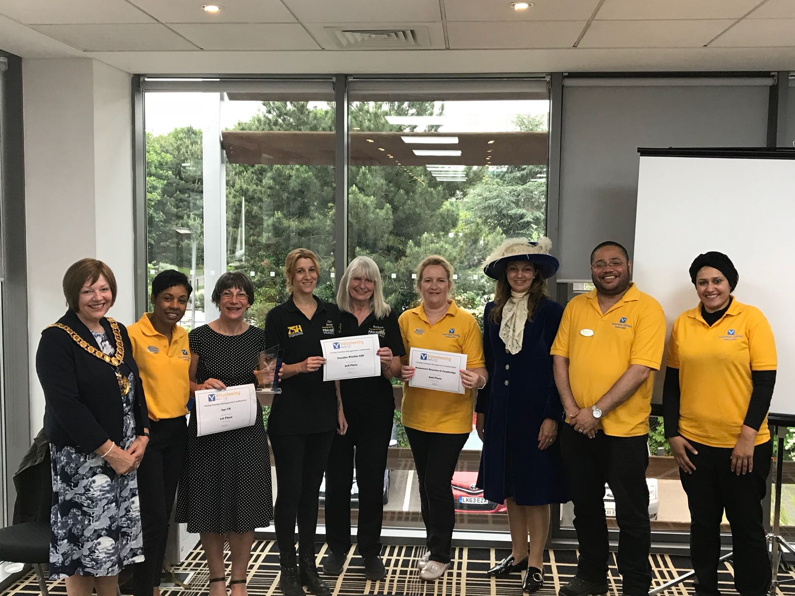 June 2018 Volunteer Awards