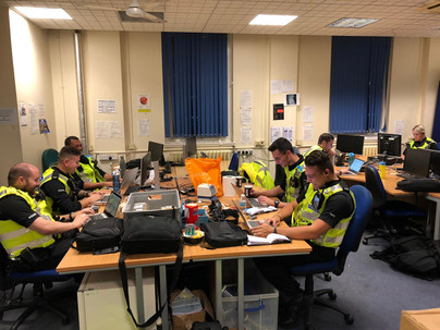 Days and nights with the Hertfordshire Constabulary