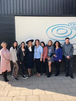 Oaklands College Fashion Students