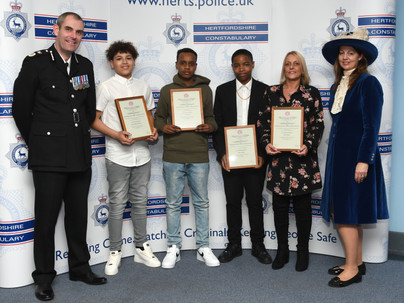 Hertfordshire Constabulary's Long Service and Commendation Awards