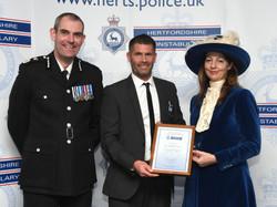 Police Awards - April 2018