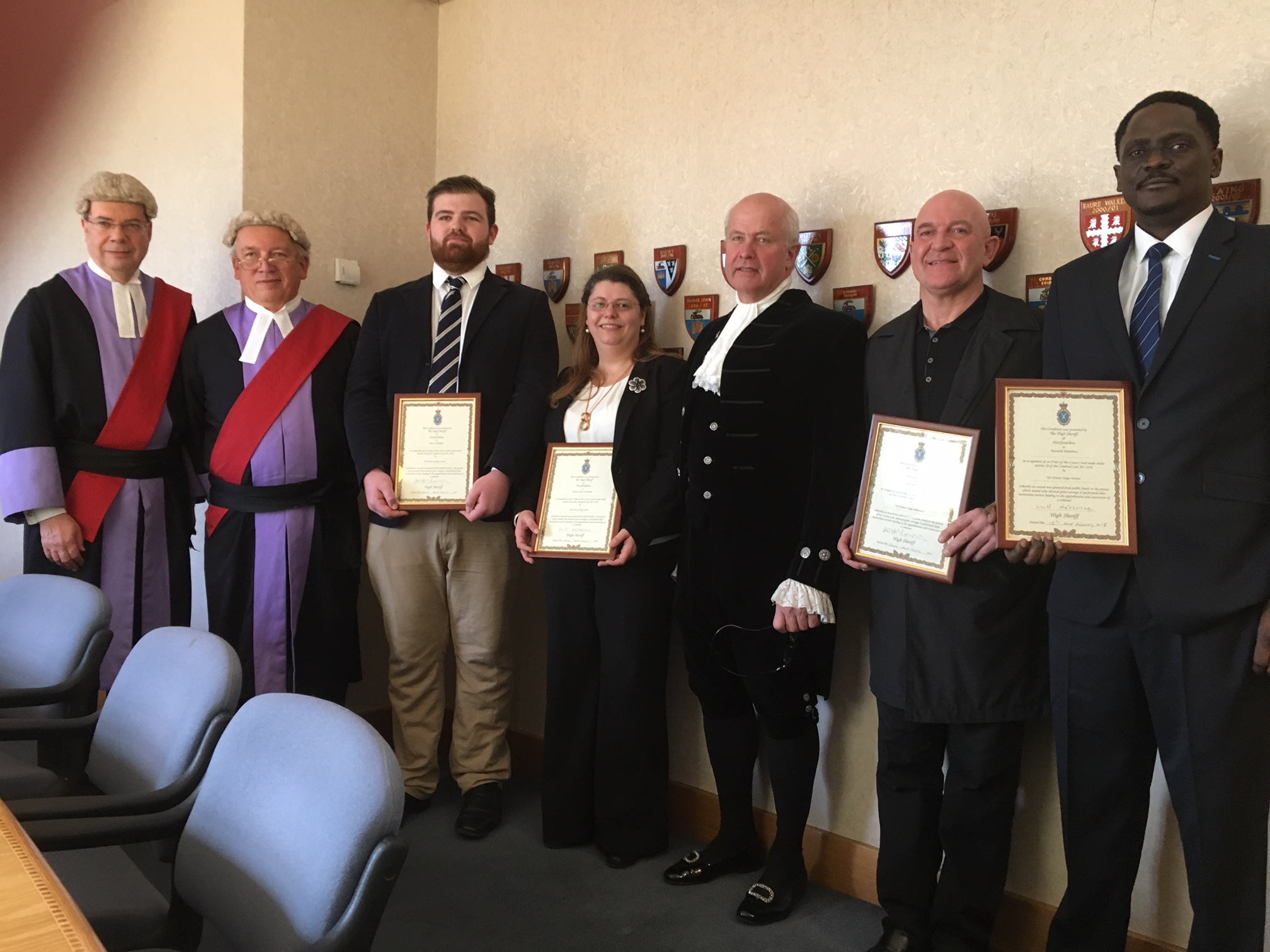 Court Awards February 2018