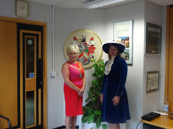 Touring Broxbourne with the Mayor