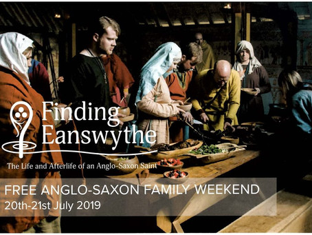 Visiting Finding Eanswythe's Anglo Saxon Family Weekend