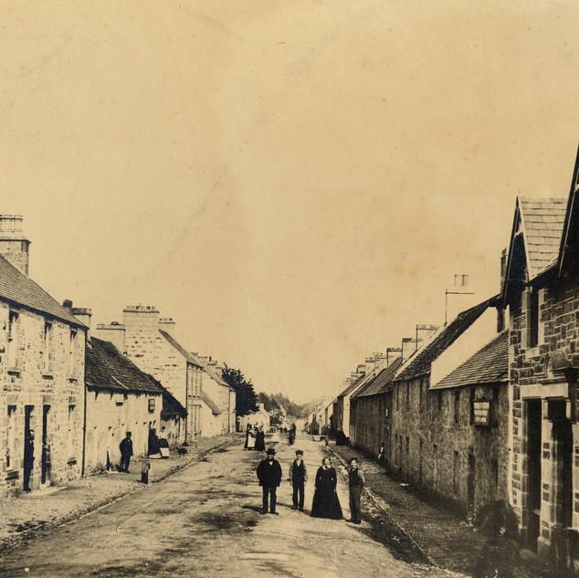 Kingussie High Street 1870