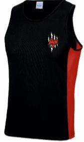 Cool Contrast Vest Black