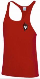 Men's Cool Muscle Vest Red