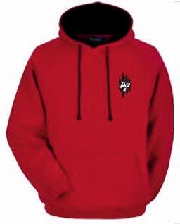 Premium Unisex Hoodie Red