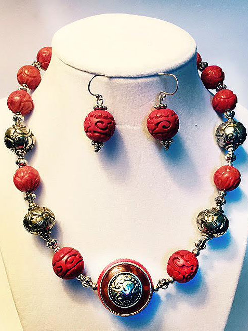 Cinnabar and Tibet Accents