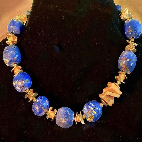 Ghana Blue Glass