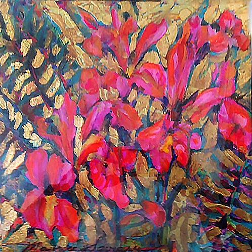 Pink Iris Gold