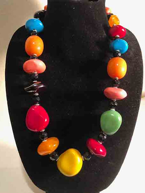 Tagua Nuts and Tibet Cast Resin