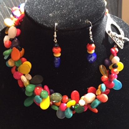Tripple Strand of Mali Wedding Beads