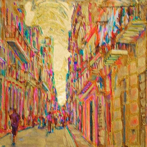 Golden Cuba Streetscape