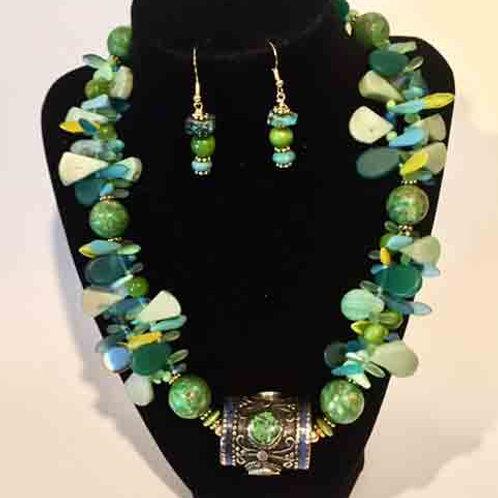 Mali Wedding Beads and Coral