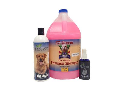 Powder Soft Ultra Premium Cleaning Shampoo  16oz