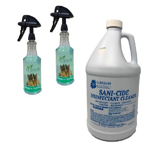 Hard Surface Cleaner Kit: Gallon and Sprayers