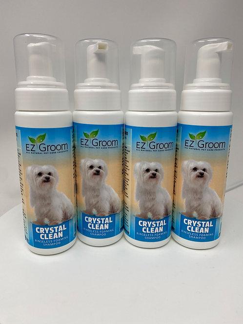 Crystal Clean® Waterless Foaming Shampoo 7 oz Foam