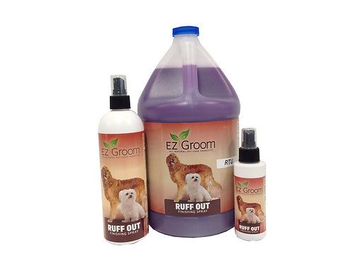 Ruff Out Finishing Spray RTU  4 oz Size