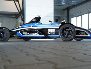 EcoBoost Three-Cylinder Formula Ford Race Car Laps Nurburgring in 7:22