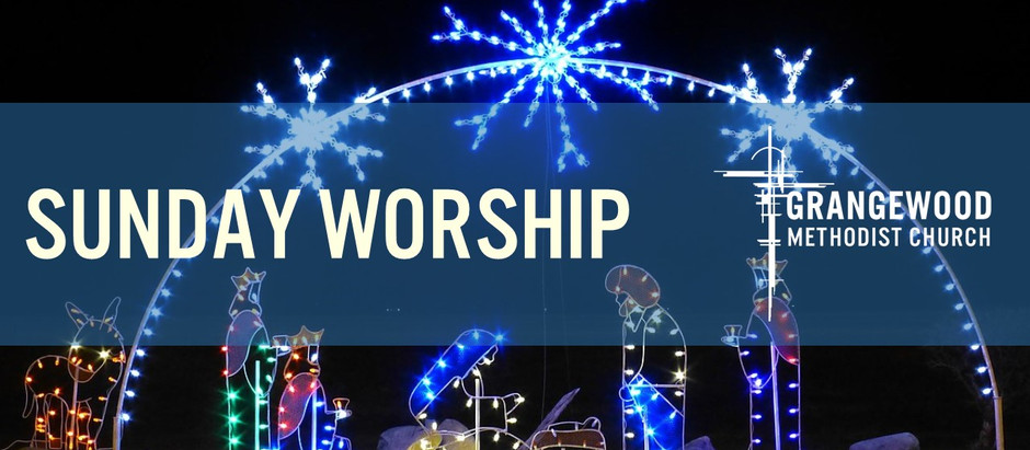 Sunday Worship - Sunday 20th December