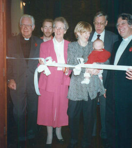 Opening of New foyer Nov 1997.jpg