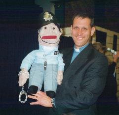 J Hartley puppet 1998.jpg