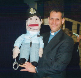 J Hartley puppet 1998.jpg
