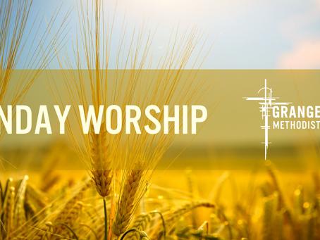 Sunday Worship - Sunday 27th Sept