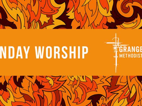 Sunday Worship - Sunday 31st May