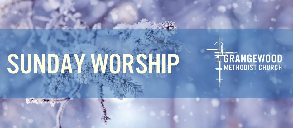 Sunday Worship - Sunday 24th January