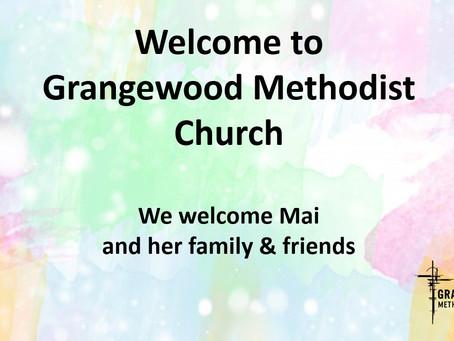 Sunday Worship  - 12 September 2021