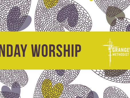 Sunday Worship - Sunday 30th August