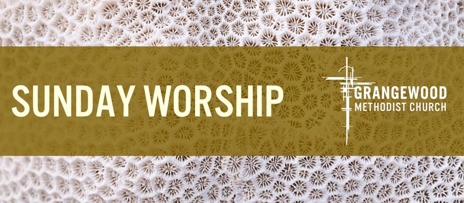 Sunday Worship - Sunday 22nd November