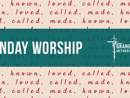 Sunday Worship - Sunday 17th January