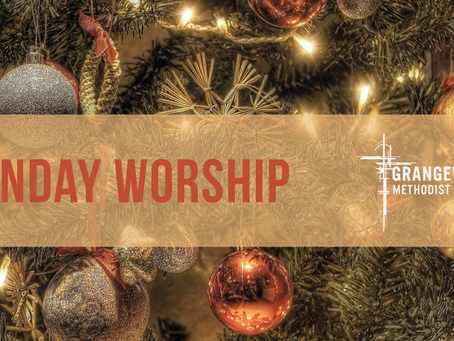 Sunday Worship - Sunday 13th December