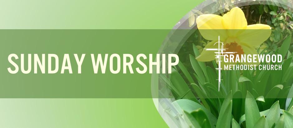 Sunday Worship - 18th April