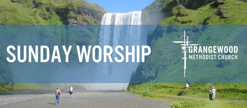 Sunday Worship - 25th July 2021